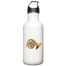 Funny French horn Water Bottle