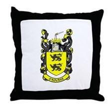 O'ROURKE Coat of Arms Throw Pillow
