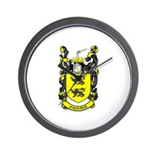 O'ROURKE Coat of Arms Wall Clock