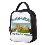 Long Beach Municipal Auditorium Neoprene Lunch Bag