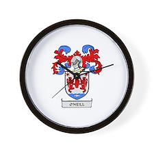 O'NEILL Coat of Arms Wall Clock