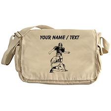 Custom Football Kicker Messenger Bag
