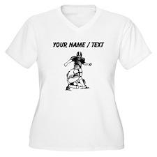 Custom Football Kicker Plus Size T-Shirt