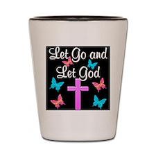 TRUST GOD Shot Glass
