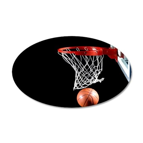 Basketball Point Wall Decal