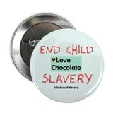 "Love Chocolate 2.25"" Button (10 pack)"
