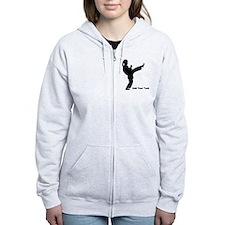Karate Personalized Zip Hoodie