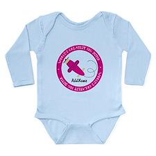 Pink Plane Big Sister Long Sleeve Infant Bodysuit