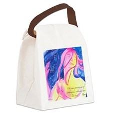 Rumi Spinning Canvas Lunch Bag