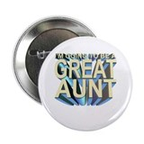 I'm going to be a great aunt Button (100 pk)