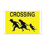 Crossing Border Wall Decal