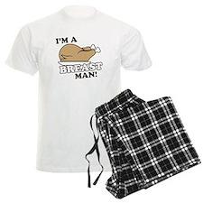 I'm a Turkey Breast Man Pajamas