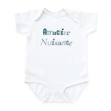 Attractive Nuisance (Blue) Infant Bodysuit