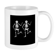 Skeleton Bones Halloween Mug