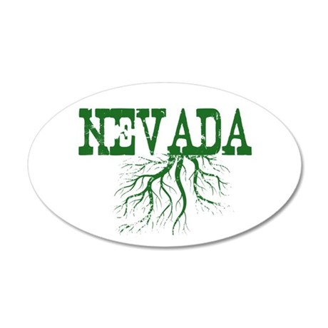 Nevada Roots 35x21 Oval Wall Decal