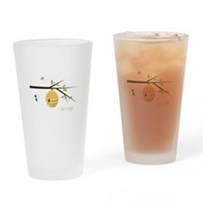Bee Keeper Drinking Glass