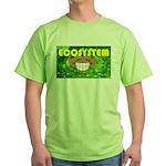 THE GREEN MONKEY  BRING DAT B Green T-Shirt