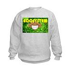 THE GREEN MONKEY  BRING DAT B Kids Sweatshirt