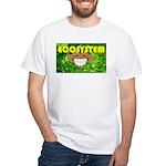 THE GREEN MONKEY BRING DAT B White T-Shirt