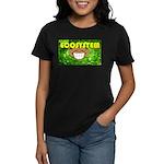 THE GREEN MONKEY  BRING DAT B Women's Dark T-Shirt