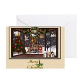 Bay Window Scene Greeting Cards (Pk of 10)