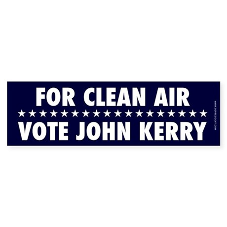 For Clean Air Bumpersticker