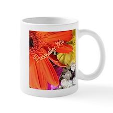 Personalized Flower Mug