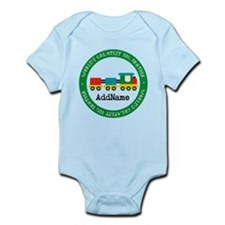 Big Brother Train Personalized Infant Bodysuit
