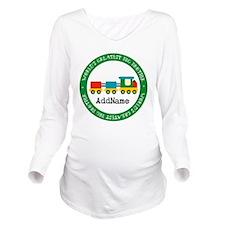 Big Brother Train Pe Long Sleeve Maternity T-Shirt