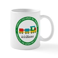 Big Brother Train Personalized Mug