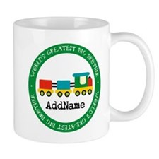Big Brother Train Personalized Small Mug