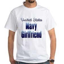 US Navy Girlfriend Blue Shirt