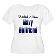 US Navy Girlfriend Blue T-Shirt