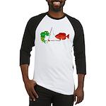 Combat-Fishing(R) Fish vs Fish Baseball Jersey