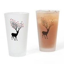 Oh, my deer Drinking Glass