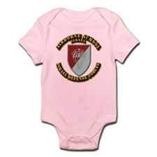 Airborne School Infant Bodysuit
