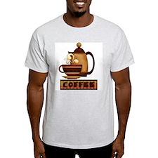 folk art coffee T-Shirt