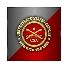 CSC-Confederate States Cavalry Queen Duvet