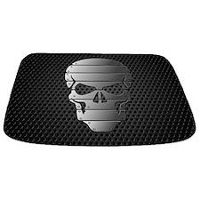 Chrome Skull Bathmat