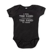 I Feel the Need to Read Baby Bodysuit
