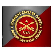 CSC-Forrest Cavalry King Duvet