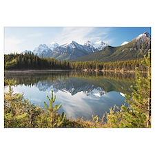 Banff National Park, Alberta, Canada, Mountains Re