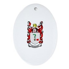 O'DONOVAN Coat of Arms Oval Ornament