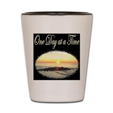 ONE DAY AT A TIME Shot Glass
