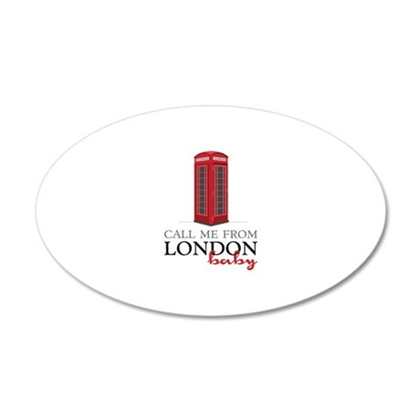 Call Me From London Wall Decal