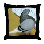Barred Domestic Flight Throw Pillow