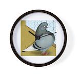 Barred Domestic Flight Wall Clock