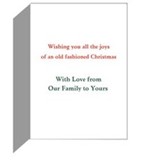 Funny Personalizable Greeting Cards (Pk of 10)