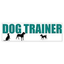 Dog Trainer Car Sticker