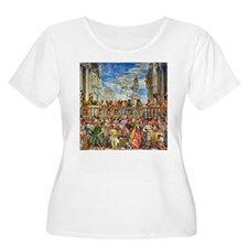 Paolo Veronese: Wedding at Cana Plus Size T-Shirt